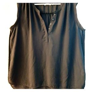 Reitmans black summer blouse size 18